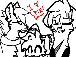Cat loves pie XD by 0Silverskull0