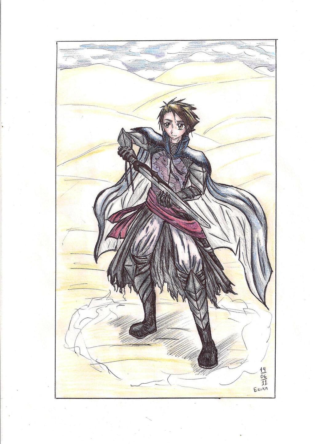 Knight by AkimiraAkire