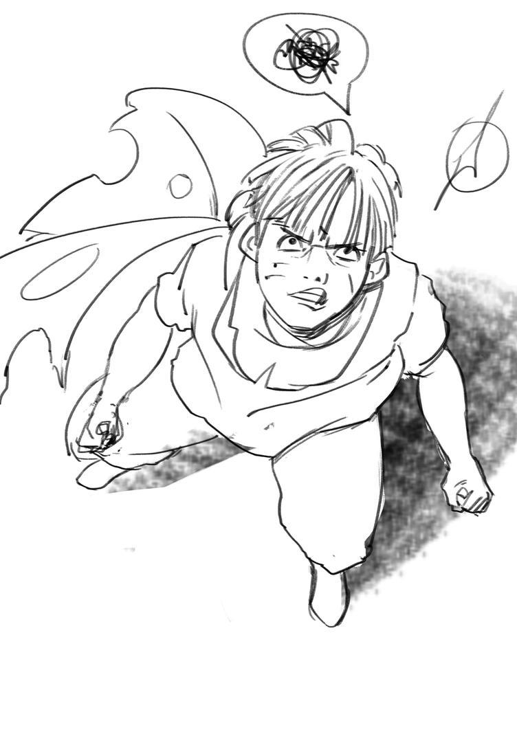 Hero Sketch by ManuelFarias