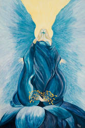 Blue Angel by from-art-to-art