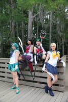 The Outer Planetary Senshi by MEW21