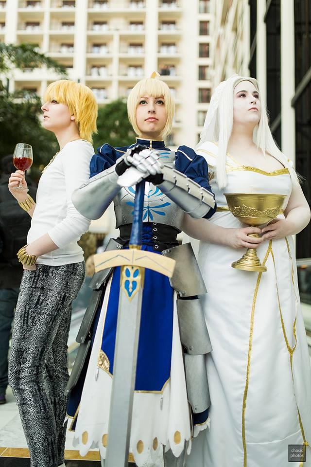 Fate/Zero Cosplay Group: Saber,Irisviel,Gilgamesh2 by ...