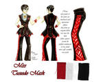 Couture Fashion Tuxedo Mask by MEW21/Athel Arts by MEW21