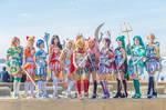 NoFlutter Warrior Princess Group Katsucon 2017