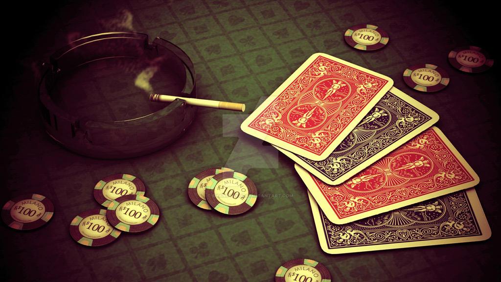3ds Gamble scene by shaneyakuza