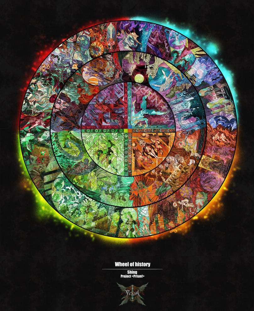 THE WHEEL OF HISTORY for game Prism by Shingshingshing