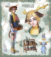 [OPEN] ADOPT AUCTION: Horniki #2