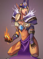 WoW: Fire Mage by dalmuln