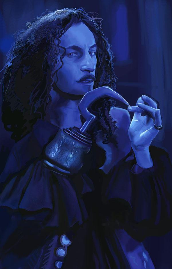Jason Isaacs- Cpt. James Hook by dalmuln