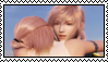 Lightning and Serah Stamp 1 by AutumnVisionary