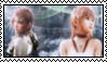Lightning and Serah Stamp 2 by AutumnVisionary