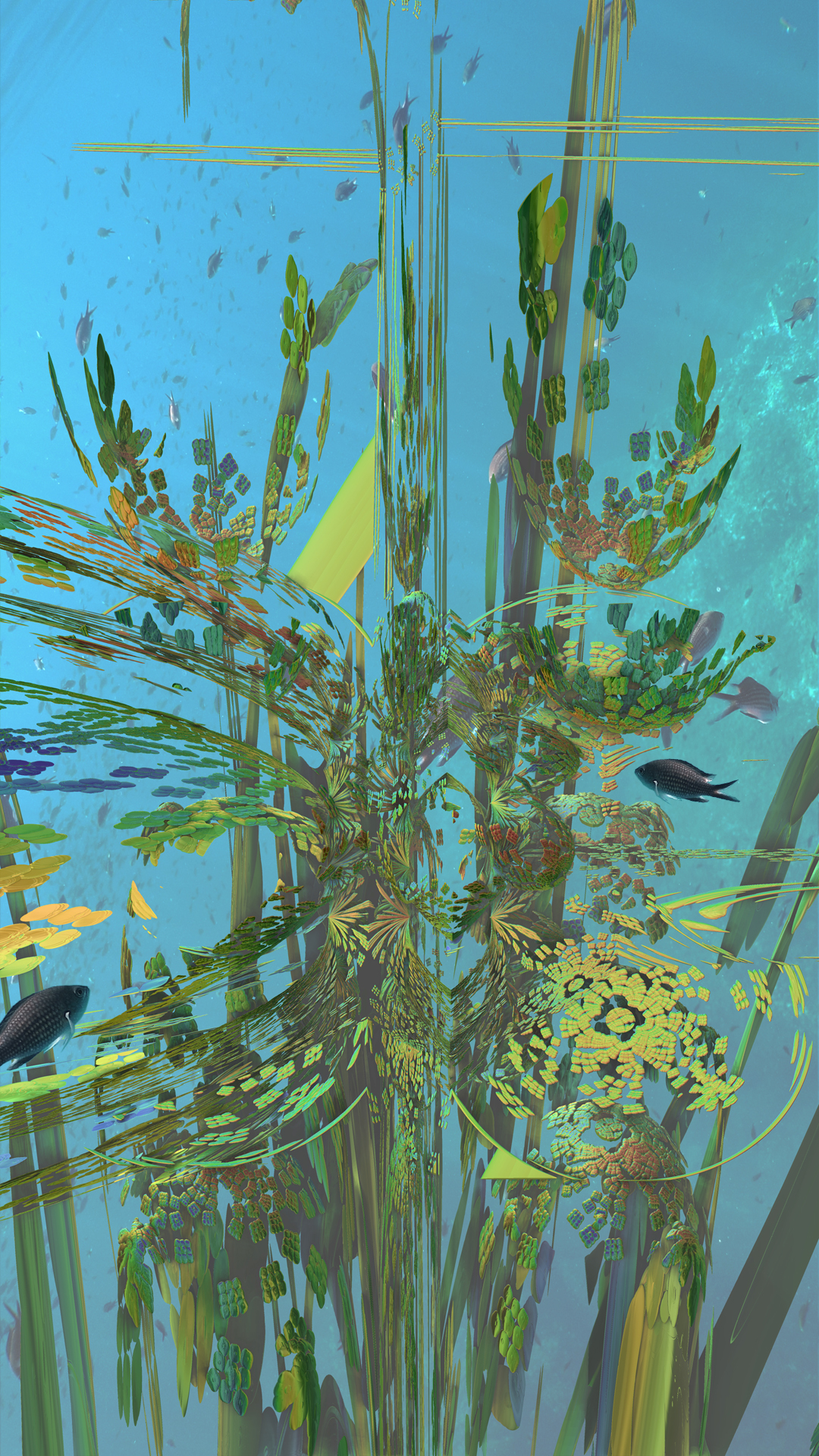 MB3D Underwater life by viperv6