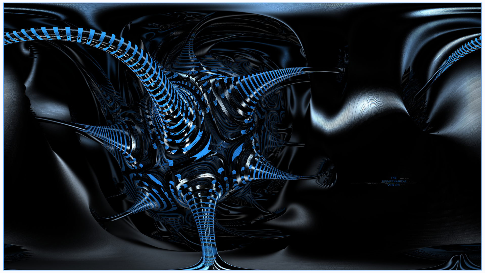 The BioMechanical Virus by viperv6