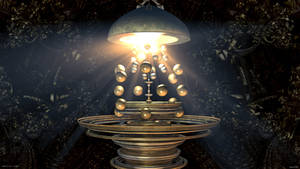 Magical Lamp by viperv6