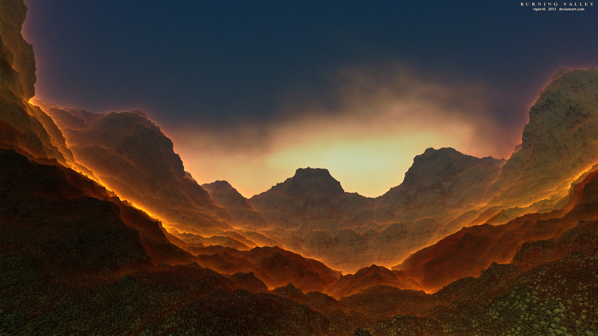Burning Valley by viperv6