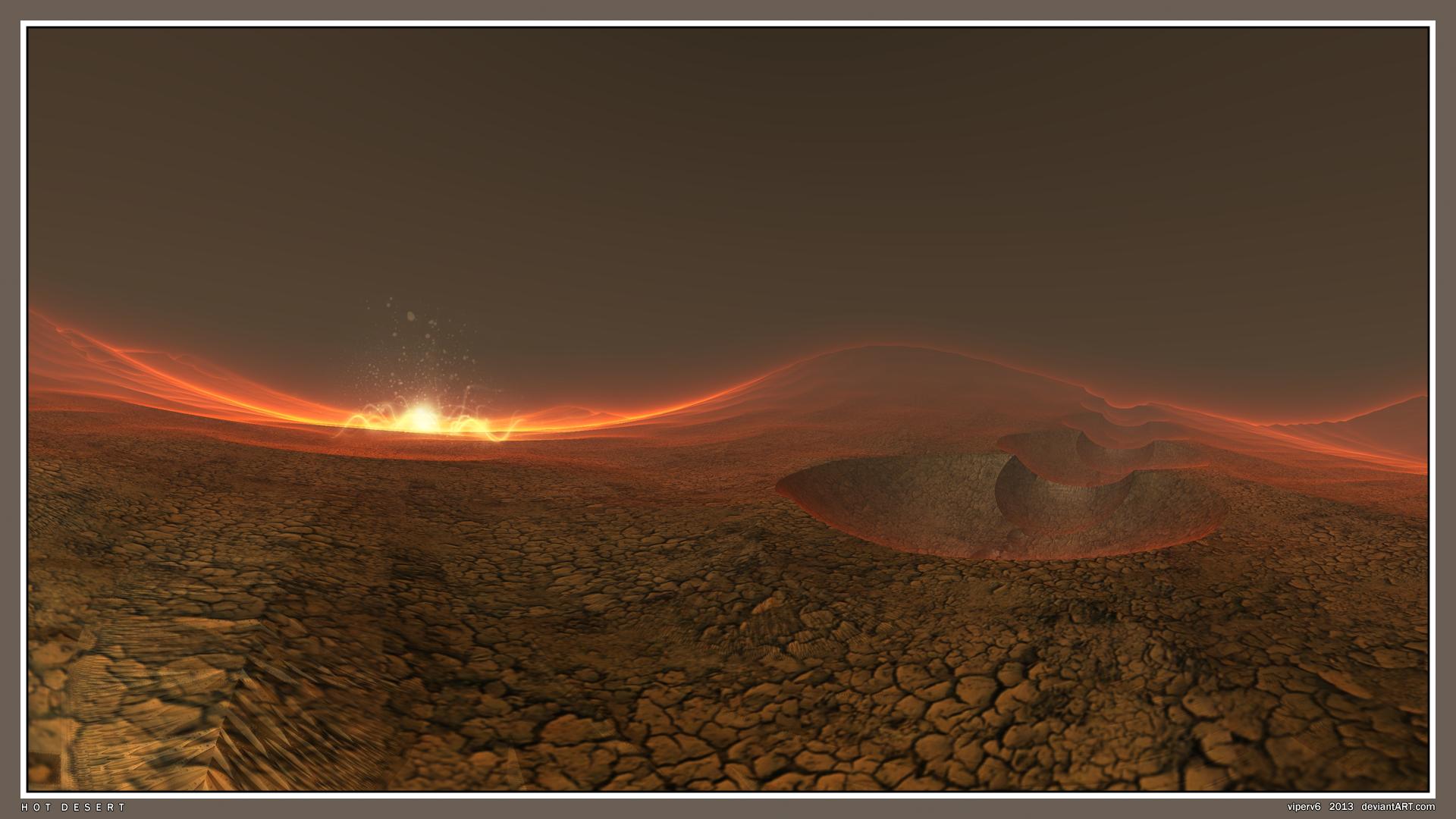 Hot Desert by viperv6