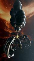 Vision of bionic spaceship