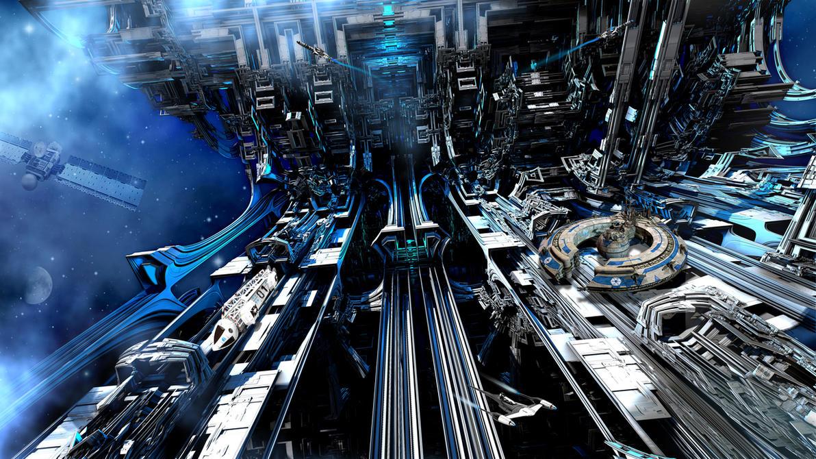 Raumhafen XEROS 3 by viperv6