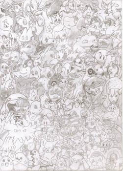 Pokemons everywhere