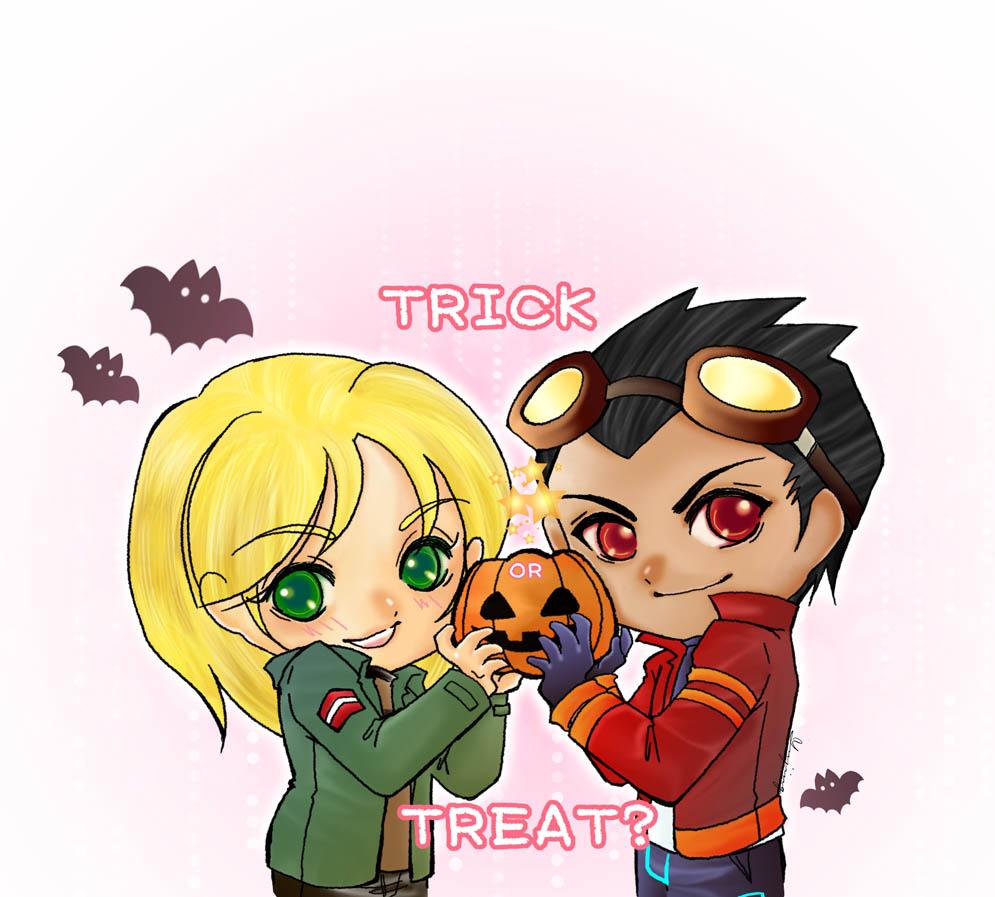 halloween by yujing229