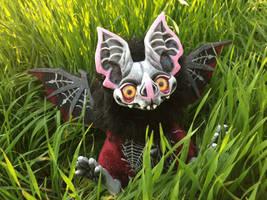 Balthazar the Bat OOAK Doll 2 by CirquellGate