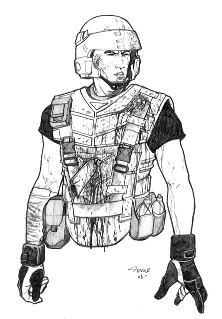 Starship Trooper S Bad Day By Blastech On Deviantart