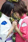 Haku and Chihiro | Spirited Away