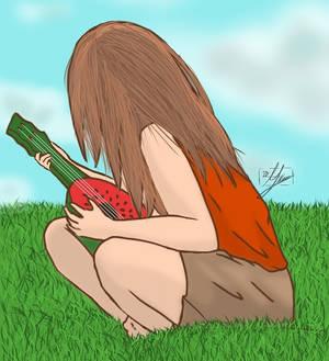 Watermelon ukelele