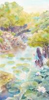 KaneHori on Lotus Lake