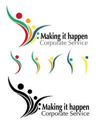 Corporate Service Logo by NAnTu