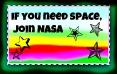 NASA Stamp by MidnightMoss