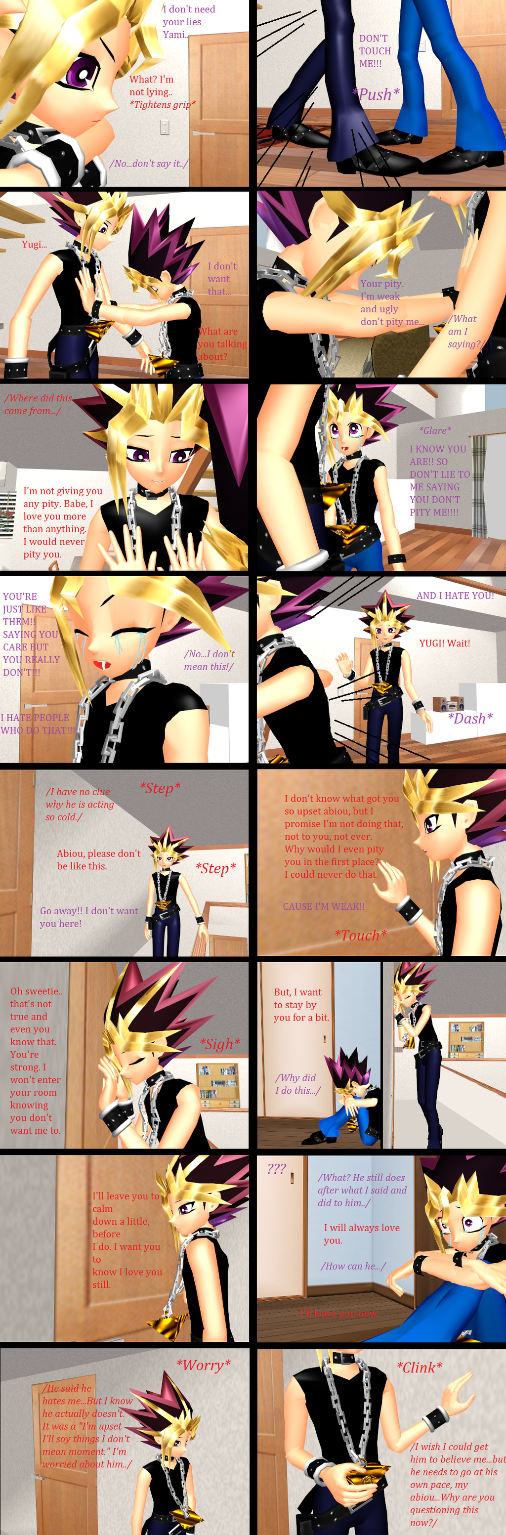 YugixYami Comic-52 by YugixYamiLove4ever