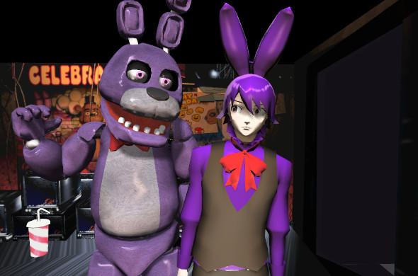Bonnie and Bonnie (Human) by YukixKyo4ever