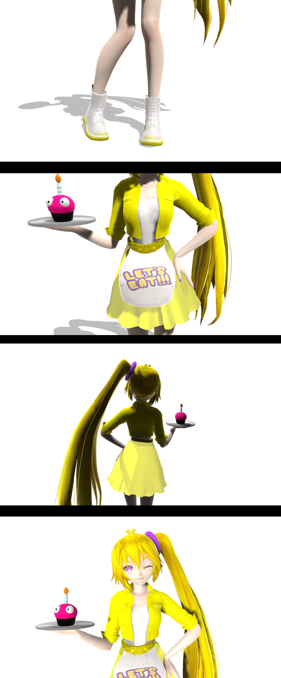 MMD Fnaf- Chica COMPLETE by YugixYamiLove4ever