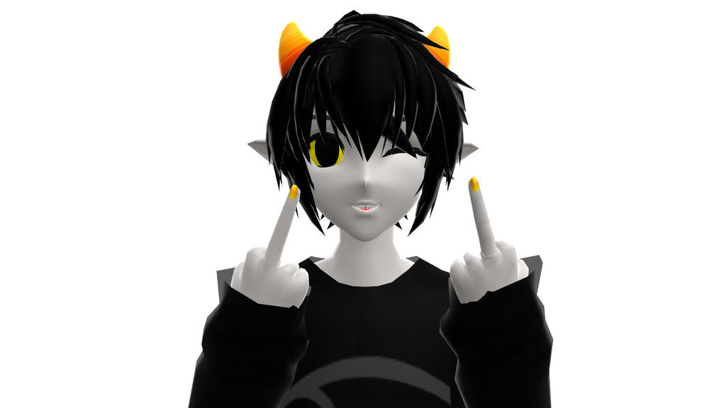 MMD Homestuck- Fuck Y'all by YugixYamiLove4ever