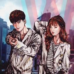 W - TWO WORLDS Korean Drama fanart by jrbgwho by jrbgwho