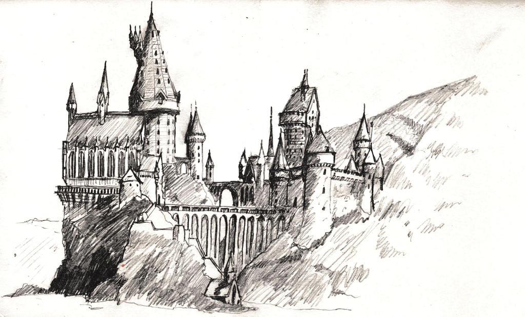 Drawing Lines In Jcanvas : Hogwarts by francesco segala on deviantart