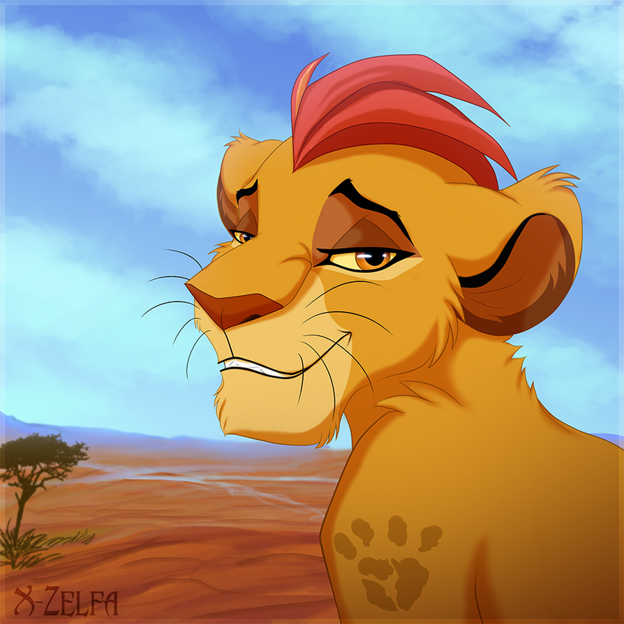 Kion by x zelfa on deviantart - Kion le roi lion ...