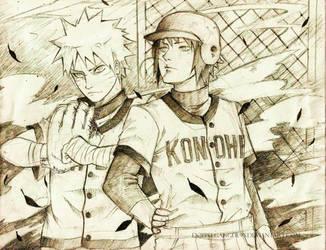 Naruto Shippu Konoha Gakuenden by midorynn