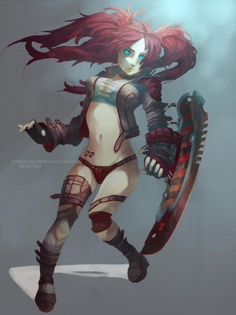 Cyborg by d-oppelganger