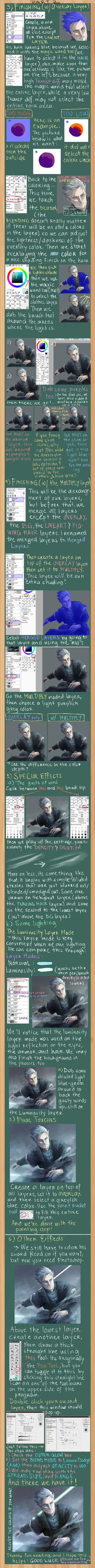 Coloring/Finishing Tutorial (SAI) PART 2 by d-oppelganger
