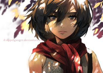 Mikasa by midorynn