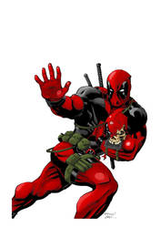 Deadpool colors finals by raMbo1911
