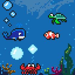 Underwater Pixelart