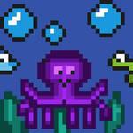 Octopus- Pixelart  by Northman277