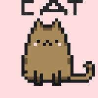 Cat- Pixelart