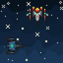 Space- Pixelart