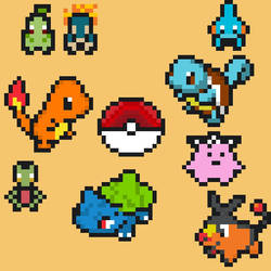 Pokemon-Pixelart
