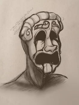 SCP FanArt | SCP 035 crying