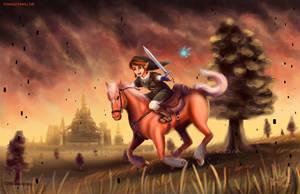 Hero of Twilight by Cascadena